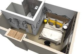 plan chambre d hotel décoration intérieure et aménagement hôtel de crolles ibis style