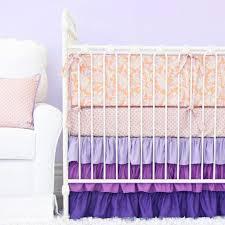 Purple Flower Rug Bedroom Jungle Themed Purple Crib Bedding Set Featuring White Rug