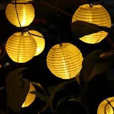 Ball Solar Lights - aliexpress com buy 6m 30 led outdoor lighting lantern ball solar