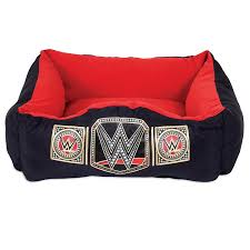Wrestling Ring Bed by Amazon Com Wwe 20x17 Championship Lounger Pet Bed Pet Supplies