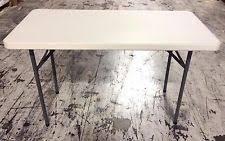 plastic folding tables ebay