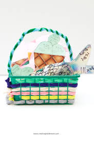 rosh hashana basket of blessings craft for kids or anyone