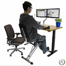 ergonomic desk review the benefits of the uplift bike desk gym