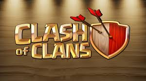 clash of clans hd wallpapers clash of clans logo wallpaper background 58486 2560x1440 px