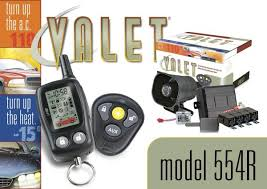 554r your valet 2 way alarm w remote car starter
