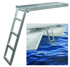 jif csd2 under deck ladder for round fronts anodized aluminu