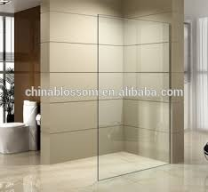 tempered glass shower door new arrival one piece tempered glass shower door design shower