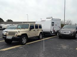 subaru camping trailer newbies towing a tt with a jeep wrangler unlimited smallest