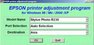 resetter epson r230 windows epson r230 resetter free download all drivers media