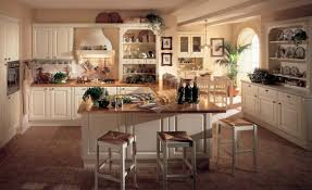 kitchen style elegant farmhouse style kitchen design creme panel
