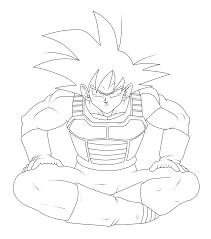 goku coloring pages coloring page