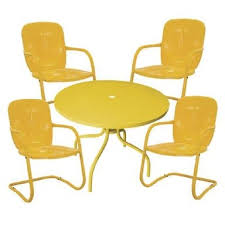 Retro Patio Furniture Or Not Retro Patio Furniture From Target Apartment Therapy