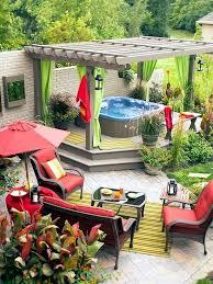Garden Setup Ideas Install The Tub In The Garden 25 Ideas To Make The Patio