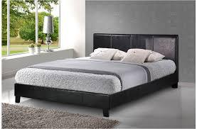Single Leather Bed Frame Bed 201 Single Leather Bed Frame Bedrock Furniture