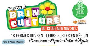 chambre r馮ionale d agriculture paca festival brin de culture du 13 10 2017 au 06 11 2017 région paca