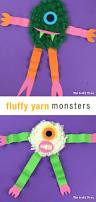 Monsters For Halloween by Fluffy Yarn Monsters The Craft Train