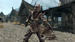 2k female orcish armor color overhaul at skyrim nexus mods and