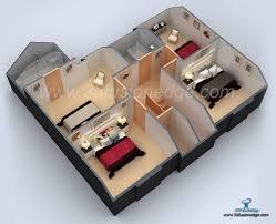 3d floor plan rendering architectural 3d floor plan rendering studio by threedfusionedge