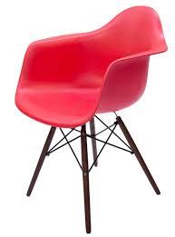 set of 2 replica eames daw eiffel chair walnut legs