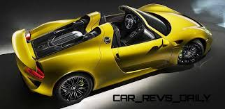 porsche spyder yellow hd video 918 spyder in track session latest yellow photos