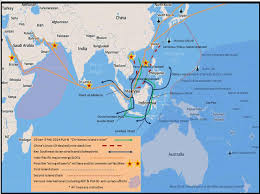 China Sea Map by China U0027s Sea Lines Of Communication U2014implications For The South Pacific