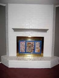 painting fireplaces awesome 1000 ideas about painted brick