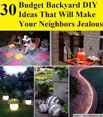 Backyard Oasis Ideas 30 Budget Backyard Diy Ideas That Will Make Your Neighbors Jealous
