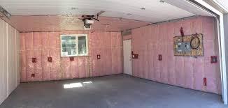 applying garage door insulation your home living garage 101