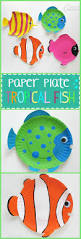 paper plate pufferfish craft for kids cutting practice fish