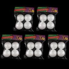20 styrofoam balls 2 5 school arts crafts modeling