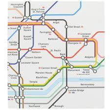 Tube Map London Change London Tube Map Square Self Adhesive Album