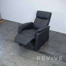 sessel leder schwarz leder sessel schwarz relax funktion corona toskana einsitzer couch