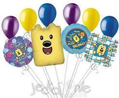 wow wow wubbzy happy birthday balloon bouquet u2013 jeckaroonie balloons