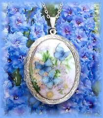 flowers with butterfly necklace images 35 best lockets images butterflies lockets and jpg