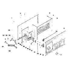 fan forced wall heater parts arvin radiant fan forced electric heater parts model 30h251
