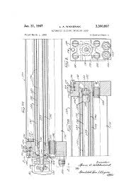 patent us3300897 automatic sliding swinging door google patents