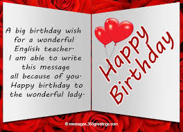 What To Write In A Birthday Card For Your Boyfriend Birthday Wishes For Teacher 365greetings Com