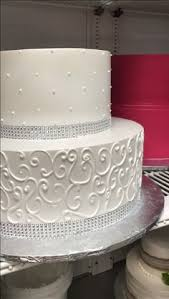 black white u0026 gold wedding cake delivery from el bolillo bakery in