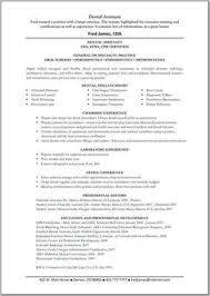 Orthodontic Assistant Resume Dental Assistant Resume Dentist Health Resumecompanion Com