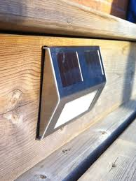 Solar Patio Table Lights by Solar Powered Lights Illuminate Steps Or Deck U2026 Pinteres U2026