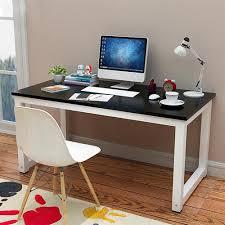 Simple Computer Desk Amazon Com Yaheetech Modern Simple Design Home Office Desk