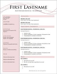 formatting resume in word example of a well written resume resume format 2 download button