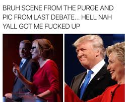 Purge Meme - trump wants to use a tagline from the purge as his 2020 caign