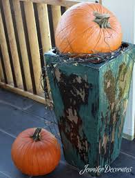 Outdoor Fall Decorating Ideas by Outdoor Fall Decorating Ideas Jennifer Decorates
