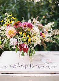 Precious Moments Centerpieces by Wildflower Centerpieces Archives Southern Weddings