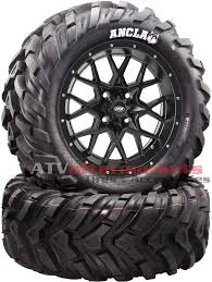 itp hurricane 12 u0026 034 atv wheels 26 u0026 034 ancla tires polaris ranger
