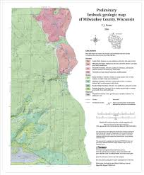 Maps Of Wisconsin by Wisconsin Geological U0026 Natural History Survey Preliminary