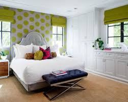 lime green and white houzz