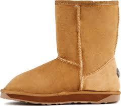 emu boots size 9 womens emu australia womens stinger lo w10002 black sheepskin fur winter