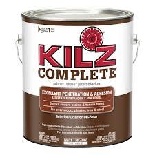 kilz 13 oz white oil based interior primer sealer and stain